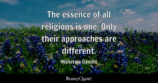Religions Quotes BrainyQuote - Top three religions in the world