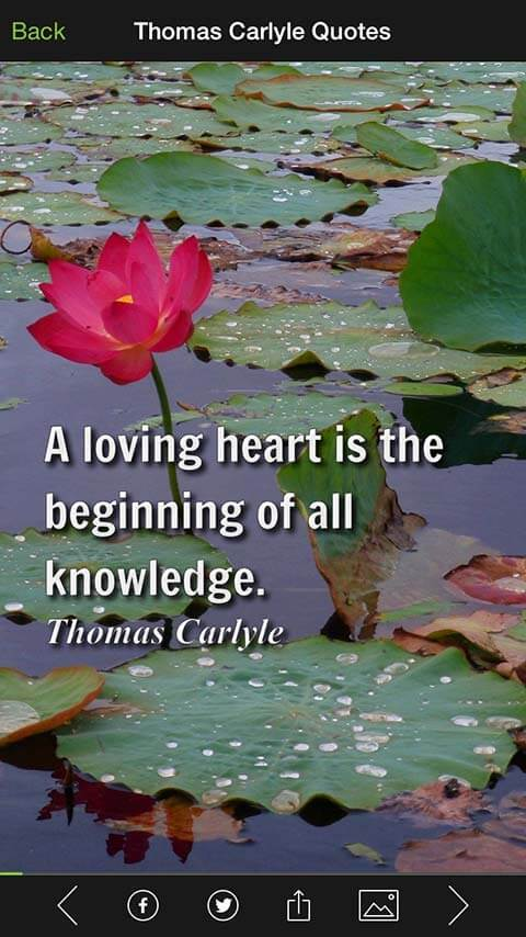 Thomas Carlyle Quote